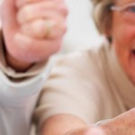 Success - Older people giving thumbs up